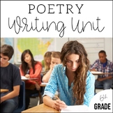 6th Grade Poetry Unit - Unit 6 {2 Weeks of CCSS Aligned Lesson Plans}