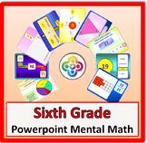 6th Grade Powerpoint Mental Math