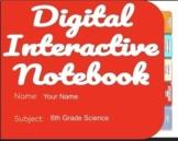 6th Grade Pre-Advanced Placement Digital Units 1-5