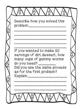 6th Grade Problem Solving Journal Number System