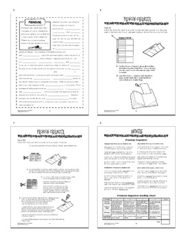 Pronouns and Antecedents Interactive Notebook Unit + SEVEN Worksheets, 4 Posters