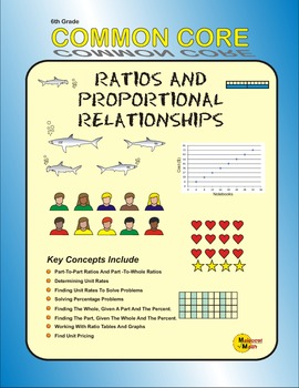 6th Grade Ratios And Proportional Relationships Common Core Practice Booklet