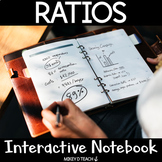 Ratios Interactive Notebook and Mnemonics