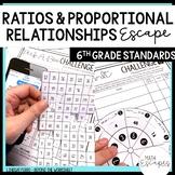 6th Grade Ratios and Proportional Reasoning Escape Room Activity
