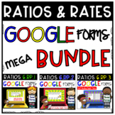 6th Grade Ratios and Rates MEGA BUNDLE: Self-Grading Google Forms