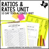 6th Grade Ratios and Rates Unit: TEKS 6.4B, 6.4C, 6.4D, 6.4H, 6.5D