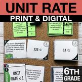 6th Grade Ratios and Unit Rate Activities   6th Grade Google Classroom