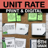 6th Grade Ratios and Unit Rate Activities | 6th Grade Goog