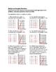 6th Grade Ratios in Graphs Lesson: FOLDABLE & Homework