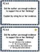 6th Grade Reading Comprehension Common Core Task Cards