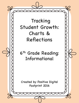 6th Grade Reading Data Tracker (Bundle) - Informational