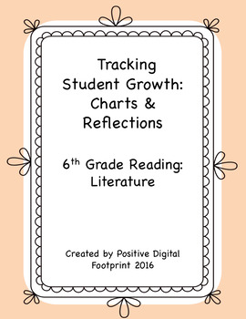 6th Grade Reading Data Tracker (Bundle) - Literature