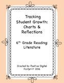 6th Grade Reading Data Tracker (Bundle) - Literature