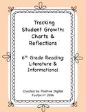 6th Grade Reading Data Tracker (Mega Bundle) - Literature