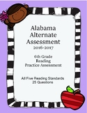 6th Grade Reading Extended Standards Practice Test  AAA