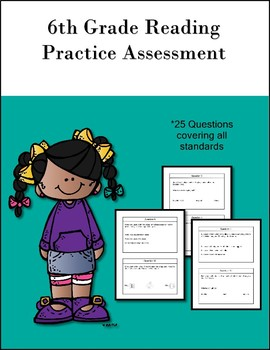 6th Grade Reading Extended Standards Practice Test  AAA PACK 2