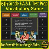 6th Grade FSA Test Prep Reading Vocabulary Review Game