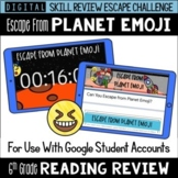 6th Grade Reading Review Game | Digital Escape Room | Goog