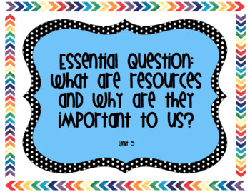 6th Grade Reading Street Unit 5 Essential Questions, Stories, and Genres