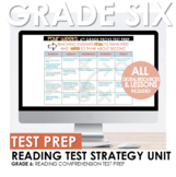 6th Grade Reading Test Prep Strategy: Beginning of the Yea