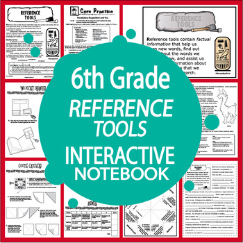 Reference Tools and Skills Interactive Notebook (L.6.4c, L.6.4d)