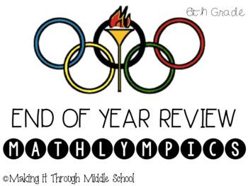 6th Grade Review MATHLYMPICS