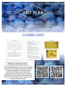 UNIT PLAN - 6th Grade Rebels & Revolutionaries in History
