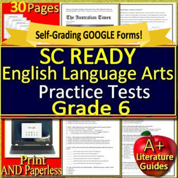 6th Grade SC READY Test Prep Practice Tests - English Language Arts