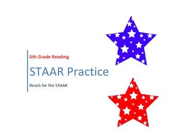 6th Grade STAAR Reading Practice