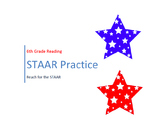 6th Grade STAAR Reading Practice