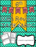 6th Grade STAAR Review - TASK CARDS 30 Readiness Standard Questions