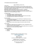 6th Grade Science 2nd 9 Weeks Unit Packet