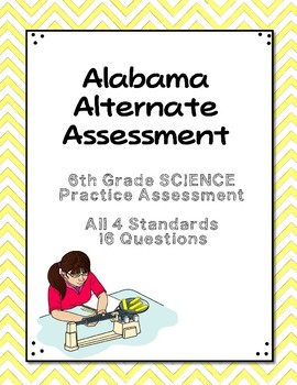 6th Grade Science Extended Standards Practice Test  AAA