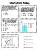 6th Grade Science Friday Spiral Reviews