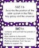 6th Grade Science Georgia Performance Standards (GPS) - Purple