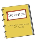6th Grade Science Interactive Notebook