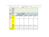 6th Grade Science Lesson Plan Template with Michigan GLCE