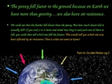 6th Grade Science Lesson Powerpoint Gravity Experiment