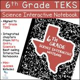 6th Grade Science TEKS - Science Interactive Notebook