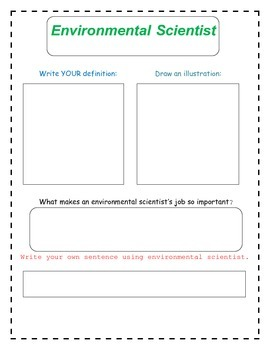 6th Grade Science and Scientists Vocabulary Packet