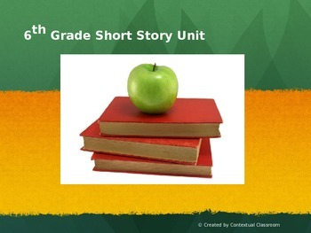 6th Grade Short Story Unit