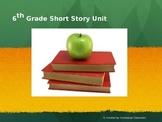 6th Grade Short Story Unit