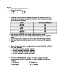 6th Grade Simple Math Review