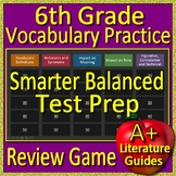 6th Grade Smarter Balanced Test Prep Vocabulary Practice Game - SBAC