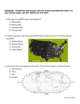 6th Grade Social Studies Benchmark Test