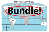6th Grade Social Studies CRCT /Georgia Milestone Prep BUNDLE!