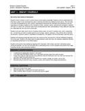 6th Grade Social Studies: Complete Unit 1 Unit Plan and Ex