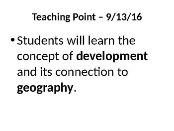 6th Grade Social Studies Passport Unit 1 PowerPoint Presentation and Lessons