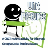 6th Grade Social Studies Unit Pictures GA Milestones Review