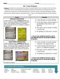 6th Grade Social Studies Vocabulary Choice Homework